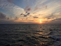 Cruise to Kiel-Germany (Esan Semi) Tags: ocean trip cruise light sunset sea vacation sky cloud sun travelling water oslo norway germany landscape evening coast boat seaside twilight ship outdoor shore kiel