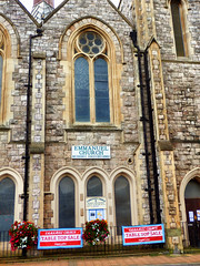 Emmanuel Church, Ilfracombe, North Devon (photphobia) Tags: road uk houses sky holiday building church architecture buildings seaside outdoor victorian shops ilfracombe northdevon emmanuelchurch oldwivestale victorianresort buildingsarebeautiful