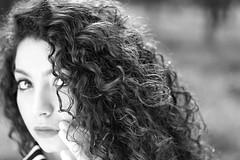 Maris (pinomangione) Tags: pinomangione portrait ritratto biancoenero monocromo bw persone capelli eyas occhi profonditdicampo