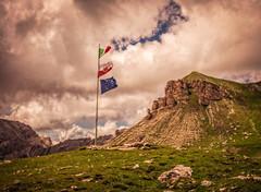 mountain flagpole