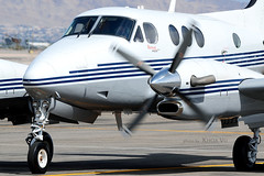 Private | Beechcraft King Air C90GT (Khoa Vu Photography) Tags: las vegas private airport king aircraft air north beechcraft c90gt kvgt