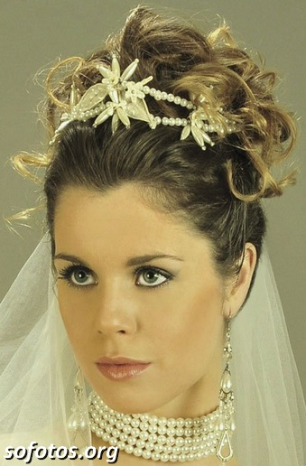 Penteados para noiva 154
