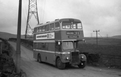 Up on the moors in 1975 (DaveAFlett) Tags: halifax titan leyland pd2 wypte