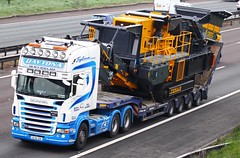 Scania R580 07-DL-229 Daytona Heavy Haulage (gylesnikki) Tags: ireland irish white truck daytona artic stgo heavyhaulage