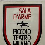 Scherma - Piccolo Teatro Milano