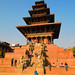 Nyatapola Temple, Bhaktapur Durbar Square.  Nepal