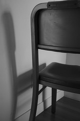 chair penumbra (Clay Percy) Tags: urban bw detail blackwhite interior stillife d600
