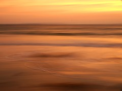 Gold to airy thinness beat... (eserehtM) Tags: ocean light beach water sunrise gold sand murrayfield tasmania brunyisland likegoldtoairythinnessbeatjohndonne