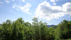 Balkan mountains (Gonrah) Tags: trees sky mountains clouds forest balkan