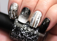 Tweed Jacket Skittles Mani (Rasilla) Tags: modi tweedjacket glamnails