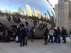 The Bean (elaczi) Tags: chicago illinois chitown thebean windycity uploaded:by=flickrmobile flickriosapp:filter=nofilter