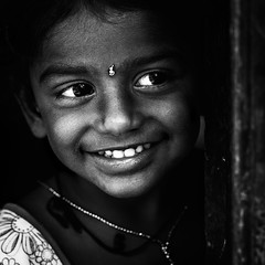Girl from Hanumanthapuram (bmahesh) Tags: people blackandwhite india girl square kid 100mm canon5d chennai mahesh tamilnadu portriat cwc chengalpet canoneos5dmarkii chennaiweekendclickers canonef100mmf28lmacroisusm maheshphotography bmahesh hanumanthapuram wwwmaheshbcom