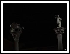 Piazza dei Signori, Vicenza (Super Mario Bros1) Tags: statue cristo leone vicenza colonne piazzadeisignori serenissima redentore leonealato