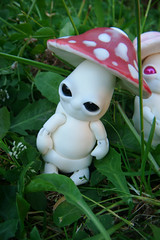 Mick-Oze the mushroom : Amanite #1 (The Maman Panda) Tags: pet cute mushroom doll artist bjd tendres chimeres