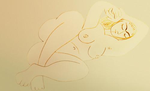 """Genealogía de las Soñantes, versiones de Lucas Cranach el Viejo (1534), Giorgione (1510), Tiziano Vecellio (1524), Nicolas Poussin (1625), Jean Auguste Ingres (1864), Amadeo Modigliani (1919), Pablo Picasso (1920), (1954), (1955), (1961). • <a style=""""font-size:0.8em;"""" href=""""http://www.flickr.com/photos/30735181@N00/8746826127/"""" target=""""_blank"""">View on Flickr</a>"""