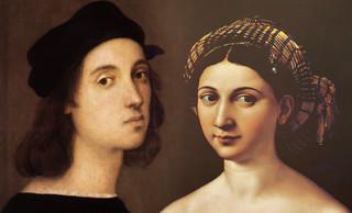 Fornarina, idealización de Rafael Sanzio (1518), contextualización de Jean Auguste Ingres (1814), adjetivaciones de Pablo Picasso (1968).