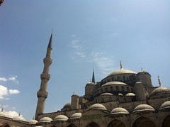 Blue Mosque/Sultanahmet Camii (miss_yasmina) Tags: trip travel holiday turkey istanbul 2013 uploaded:by=flickrmobile flickriosapp:filter=nofilter