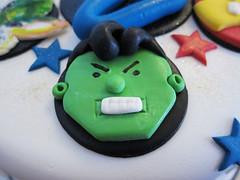Avengers Cake (Couture Cakes & Dreams) Tags: birthday man cake america iron celebration captain superheroes hulk thor marvel avengers
