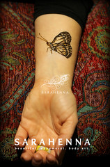 Henna-butterfly-natural-art-w (SARAHENNA - Seattle) Tags: henne mehendi heena mehandi