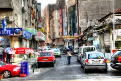 Turkish Street (Mark Alexander PhotoG) Tags: street city urban cars modern buildings turkey asia europe middleeast istanbul architectural turks hdr turkish turk izmir constantinople ottomanempire cobblestreets izmire markalexanderphotography modernimpressionismart