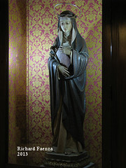 Saint Rose of Lima (fajjenzu) Tags: sculpture statue architecture faith religion malta christianity saintrose sliema nazarene jesusofnazareth saintroseoflima jesusthenazarene