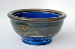 Snack Bowl (Jacob Accurso Pottery) Tags: blue coffee wheel oregon ceramic ceramics tea handmade coastal pottery bowls artisan glazed stoneware thrown wheelthrown jacobaccurso wwwetsycomshopjacobaccursopottery wwwjacobaccursopotterycom