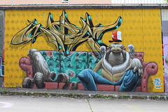 doe pixel canimal style (Pixeljuice23) Tags: streetart graffiti doe mainz friendlyfire canimal pixeljuice pixeljuice23