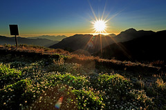 sunrise at Chilai Mountains (Thunderbolt_TW) Tags: mountain nature sunrise canon landscape taiwan  mk2 5d    mkii   tarokonationalpark nantou     hehuanshan   chilai  mthehuan hohuanshan  14 5d2  hehuanshannationalforestrecreationarea