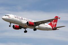 EI-EZW (B747GAL) Tags: light heathrow rosie atlantic virgin lee airbus airlines beacon lhr a320 egll eiezw