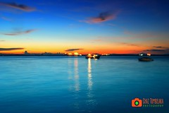 Blue Sunset (Chaz Tumbelaka Photography) Tags: blue sunset borneo balikpapan