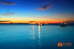 Blue Sunset (Chaz Tumbelaka Photography) Tags: blue sunset borneo balikpapan