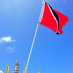 #RoyalOak in tow today #Trinidad #Flag w/ @thebaddai @reciagomez @mmascaro @drefus5 @aheadley305 @nilac615