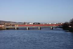 Inv09029 NessViaduct 37510 0Z10 1121 Inverness-Tain 210109 (retbsignalman) Tags: inverness riverness class37 37510 nessviaduct
