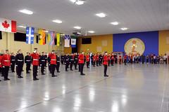 CMR2013-040 (27) (CMR-RMC Saint-Jean Photos) Tags: college de military ceremony royal des militaire canadianarmedforces forcesarmescanadiennes insignesbadgingin saintjeanroyal 30aout2013 cmrsjrmcsjcollge saintjeanmario poirierparade