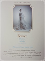 Barbie Mermaid Gown (Alex.S~) Tags: gold label barbie blond gown mermaid collector silkstone