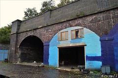 Old Railway Arches (kev thomas21) Tags: city england abandoned liverpool railway arches derelict merseyside