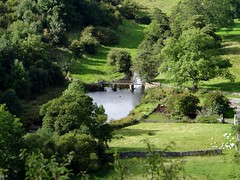Little Bridge, view from Monsal Head (Snowdrop500) Tags: bridge autumn england river derbyshire oasis valley dales weir derbyshiredales wye riverwye monsaldale monsalhead thedales