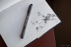 Dibujo Diario by Frank Sandres (Oaks and Coulter) Tags: 50mm book nikon bokeh drawing f14 journal doodles dibujos dibujo diario 50mmf14 d800 nikon50mm nikon50mmf14 bokehlicious dibujodiario nikond800 fernandorobles franksandres