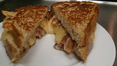 Gourmet Grilled Cheese & Bacon Sandwich