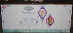 Frozen Deluxe Fashion Doll Set - US Disney Store Purchase - First Look - Boxed - Full Rear View (drj1828) Tags: anna fashion frozen us deluxe wardrobe elsa disneystore 12inch 2013 productinformation dollset