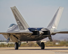 Lockheed F-22 Raptor 27th FS (Pasley Aviation Photography) Tags: heritage fighter technology force martin air united flight jet raptor stealth conference f22 states davis combat lockheed usaf base generation command fs 27th fifth 2010 afb fa22 monthan superiority fifthgeneration