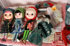 It was time to dress the dollies...