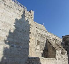 Church of the Nativity Exterior (Train Fan) Tags: old church israel jesus birth christian christianity bethlehem nativity churchofthenativity holysite birthofjesus