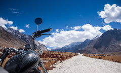 On way to Zanskar (Color Odyssey) Tags: trip travel india mountains nature bike landscape leh himalayas ladakh photpgraphy