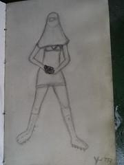 sketchbook (gueda Couto (aka Yuma)) Tags: love moleskine girl paper paz sketchbook granada bomba draw yuma patins