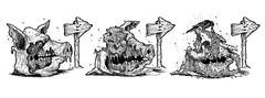 Porco Podre (doug.firmino) Tags: pig arte arts pigs ira ilustrao desenho artefinal medo porco quadrinhos raiva nanquim podre decomposio grotesco putrefao