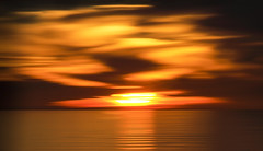 Just Wait a Minute (Steve Corey) Tags: sunset clouds inspired oceanodunes exhilarated extremesunset panningsunset