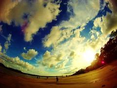 Pointe de la Liberté (j.patteyn) Tags: sunset beach cayenne amateur plage guyane frenchguiana pointedelaliberte patteyn