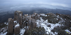 hello hobart (TLP images) Tags: snow cold tasmania hobart mtwellington chill facebookcomimagestlp imagestlp