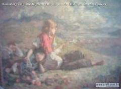 Romualdo Prati Dolce far niente,1910 olio su tela 130x170cm Collezione privata